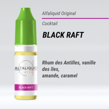 Alfaliquid - BLACK RAFT - 10ml - FS