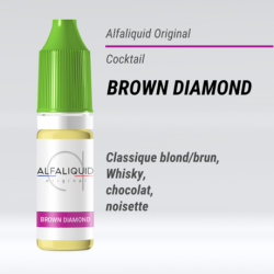 Alfaliquid - BROWN DIAMOND - 10ml - FS