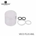 GLASS VECO PLUS 2ml par VAPORESSO