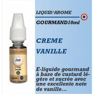 Liquid Arom - CREME VANILLE - 10ml