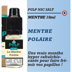 Pulp Nic Salt - MENTHE POLAIRE - 10ml