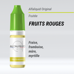 Alfaliquid - FRUITS ROUGES - 10ml