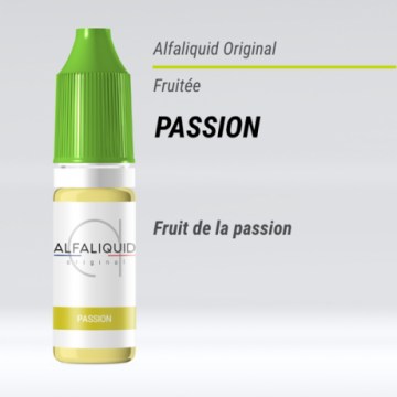 Alfaliquid - PASSION - 10ml
