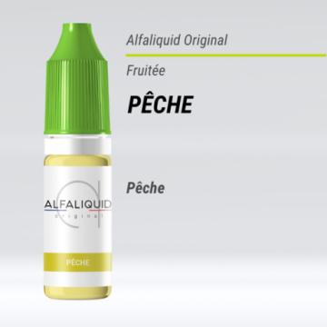 Alfaliquid - PÊCHE - 10ml