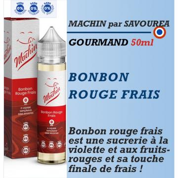Machin - BONBON ROUGE FRAIS - 50ml