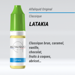 Alfaliquid - LATAKIA - 10ml