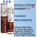 Machin - CLASSIC MACCHIATO - 50ml