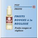 Pulp - FRUITS ROUGES A LA REGLISSE - 10ml