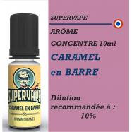 SUPERVAPE - ARÔME CARAMEL EN BARRE - 10 ml