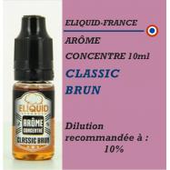 ELIQUIDFRANCE - AROME CLASSIC BRUN - 10 ml