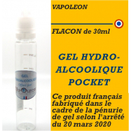 VAPOLEON - SOLUTION HYDRO-ALCOOLIQUE - 10ml