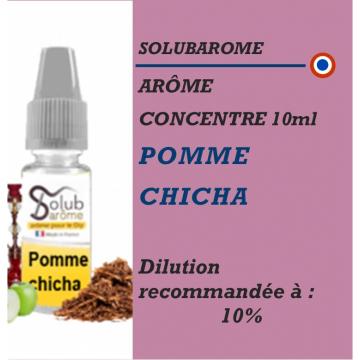 SOLUBAROME - ARÔME POMME CHICHA - 10 ml
