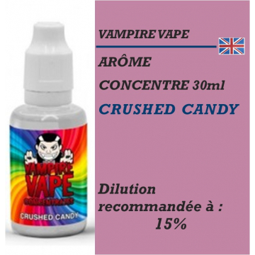 VAMPIRE VAPE - ARÔME CRUSHED CANDY - 30 ml