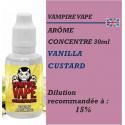 VAMPIRE VAPE - ARÔME CREME ANGLAISE - 30 ml