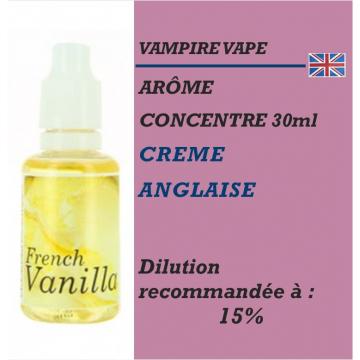 VAMPIRE VAPE - ARÔME FRENCH VANILLA - 30 ml