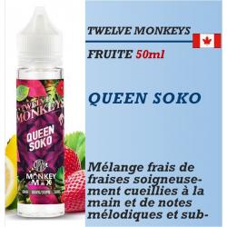 Twelve Monkeys - QUEEN SOKO - 50ml