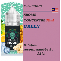 Full Moon - ARÔME GREEN - 30 ml