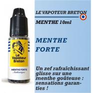 Le Vapoteur Breton - MENTHE FORTE - 10ml