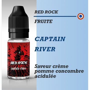 Red Rock - CAPTAIN RIVER - 10ml