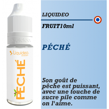 Liquideo - PECHE - 10ml