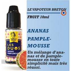 Le Vapoteur Breton - Les Duos - ANANAS PAMPLEMOUSSE - 10ml