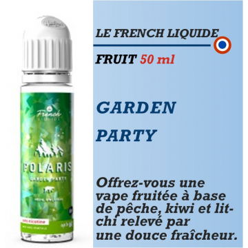 Le French Liquide - POLARIS GARDEN PARTY - 50ml