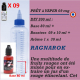 PRÊT A VAPER 200 ml en RAGNAROK 9mg de NICOTINE