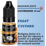 Religion Juice - FAAAT CUSTARD - 10ml