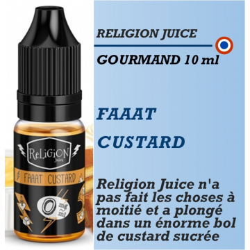 Religion Juice - FAAAT CUSTARD - 10ml