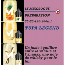 MIXOLOGIE - TUPA LEGEND - 30 - 60 - 120 - 200ml