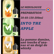 MIXOLOGIE - INTO THE APPLE - 30 - 60 - 120 - 200ml