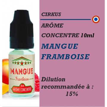 CIRKUS - ARÔME MANGUE FRAMBOISE - 10 ml