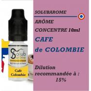 SOLUBAROME - ARÔME CAFE de COLOMBIE - 10 ml