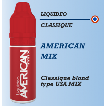 Liquideo - AMERICAN MIX - 10ml