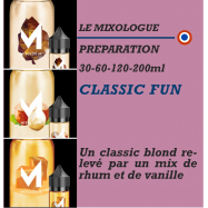 MIXOLOGIE - CLASSIC FUN - 30 - 60 - 120 - 200ml