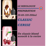 MIXOLOGIE - CLASSIC CERISE - 30 - 60 - 120 - 200ml