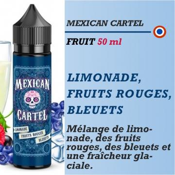 Mexican Cartel - LIMONADE FRUITS ROUGES BLEUETS - 50ml