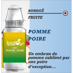 Bordo2 - POMME POIRE - 10ml - FS