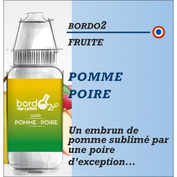 Bordo2 - POMME POIRE - 10ml