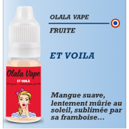 Olala vape - ET VOILA - 10ml