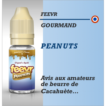 Feevr - PEANNUTS - 10ml