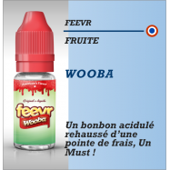 Feevr - WOOBA - 10ml lot de 3 fioles