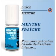 D'Lice - MENTHE FRAÎCHE - 10ml