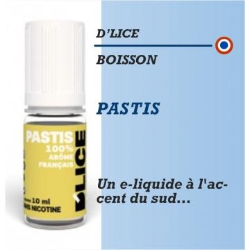 D'Lice - PASTIS - 10ml