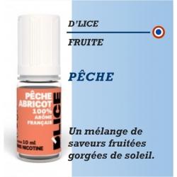 D'Lice - PÊCHE-ABRICOT - 10ml