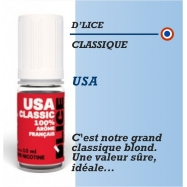D'Lice - TABAC USA - 10ml
