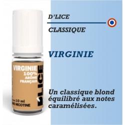 D'Lice - TABAC VIRGINIE - 10ml